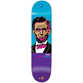 Enjoi Skateboard Deck - Presidents R7 Judkins 8