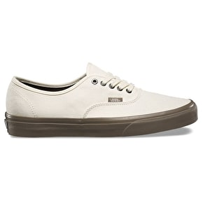 Vans Authentic Skate Shoes - (C&D) Cream/Walnut