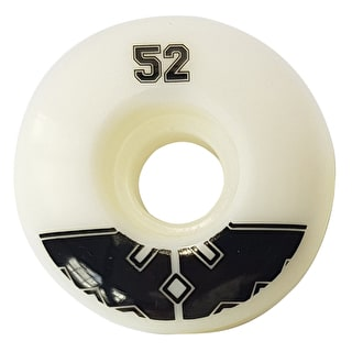 Fracture Uni Pro Skateboard Wheels - Black 52mm