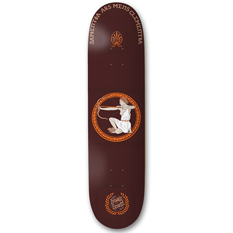 Drawing Boards Latin Series Skateboard Deck - Artemis - 8.1""