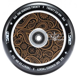 B-Stock Blunt Envy 120mm Hollow Scooter Wheel - Bandana Gold (Cosmetic Damage)