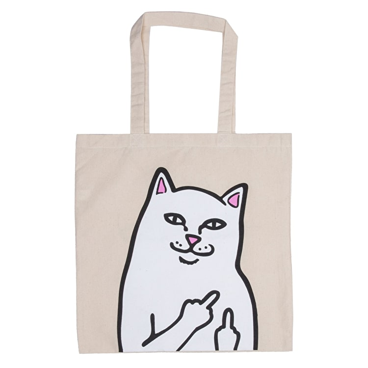 RIPNDIP OG Lord Nermal Tote Bag - Natural Canvas