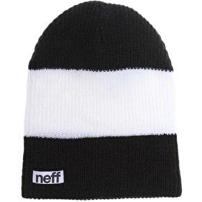 Neff Trio Beanie - Black/White