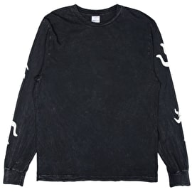 RIPNDIP Zipperface Long Sleeve T Shirt - Black