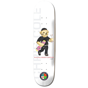 Grizzly X Plan B Skateboard Deck - Cole