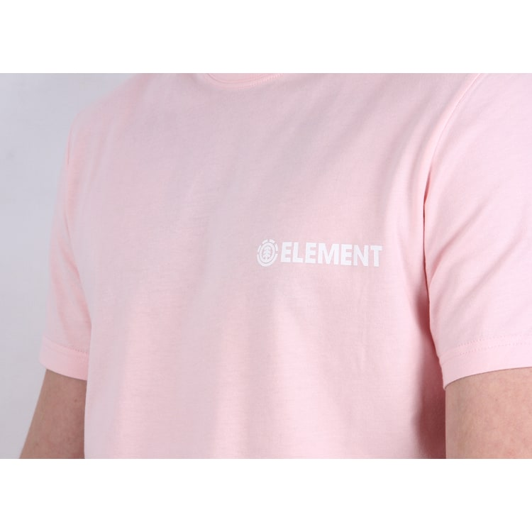 Element Blazin Chest Pastel T shirt - Rose Quartz