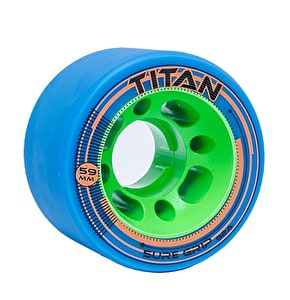 Sure-Grip Titan 59mm Quad Derby Wheels 92a- Blue