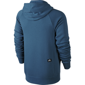 Nike SB Icon Full Zip Hoodie - Brigade Blue/Tide Pool