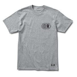 Grizzly Take Over T-Shirt - Heather Grey