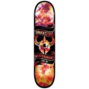 Darkstar Scroll SL Deck - Tie Dye Orange 7.75