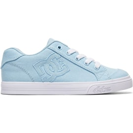 DC Chelsea TX Girls Skate Shoes - Powder Blue