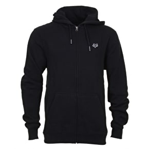 Fox Legacy Zip Fleece Hoodie - Black