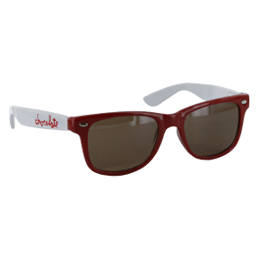 Chocolate Chunk Sunglasses - Red / White