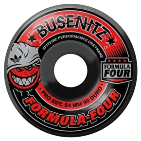 Spitfire x Adidas Busenitz Skateboard Wheels - Smoke Swirls 54mm (Pack of 4)