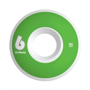Birdhouse B Logo Skateboard Wheels - Green 54mm