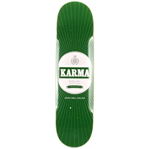 Karma Skateboard Deck - Beer - Green - 8.1''