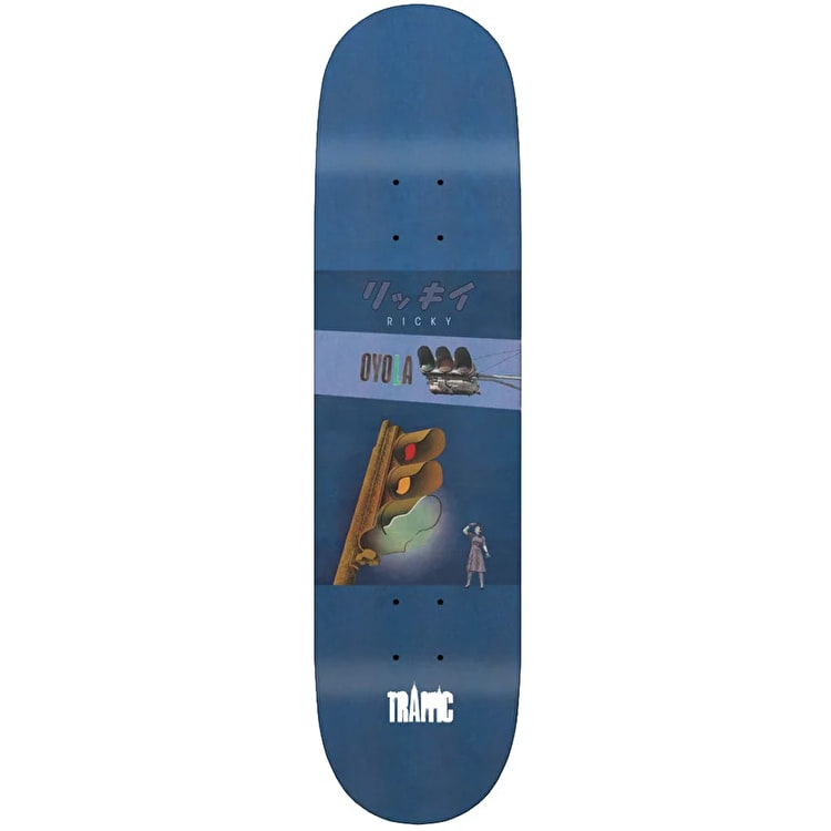 Traffic Vintage Oyola Skateboard Deck 7.75""