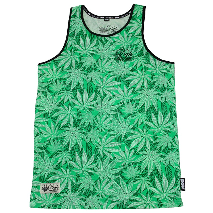 DGK Home Grown Tank Top - Green