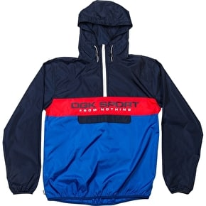 DGK Ruckus Windbreaker Jacket - Navy