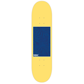 Fabric Fronescence Skateboard Deck - Yellow 8.25