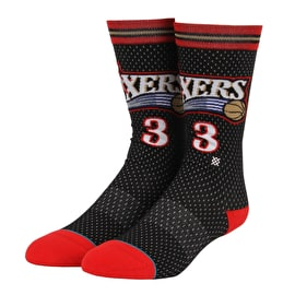 Stance NBA - Sixers 01 HWC Socks - Black