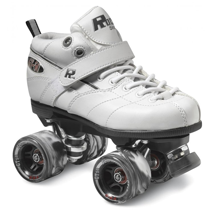 Sure-Grip Rock GT-50 Quad Roller Skates- White