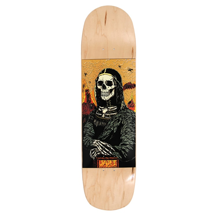 Jart Pool Before Death Skateboard Deck - Mona Lisa 8.375""