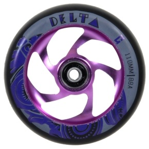 AO Delta 110mm Wheel incl Bearings - Purple