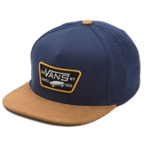 Vans Full Patch Snapback Cap - Dress Blues/Khaki