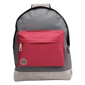 Mi-Pac Backpack - Tonal Charcoal/Burgundy