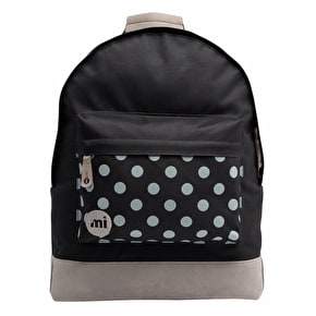 Mi-Pac Backpack - Polka Dot Black/Grey