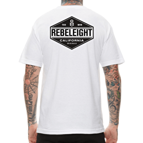 Rebel8 California Central T-Shirt - White
