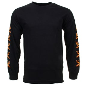 Fourstar Pirate Chain Longsleeve T-Shirt - Black