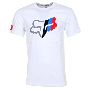 Fox With A Win T-Shirt - Optic White