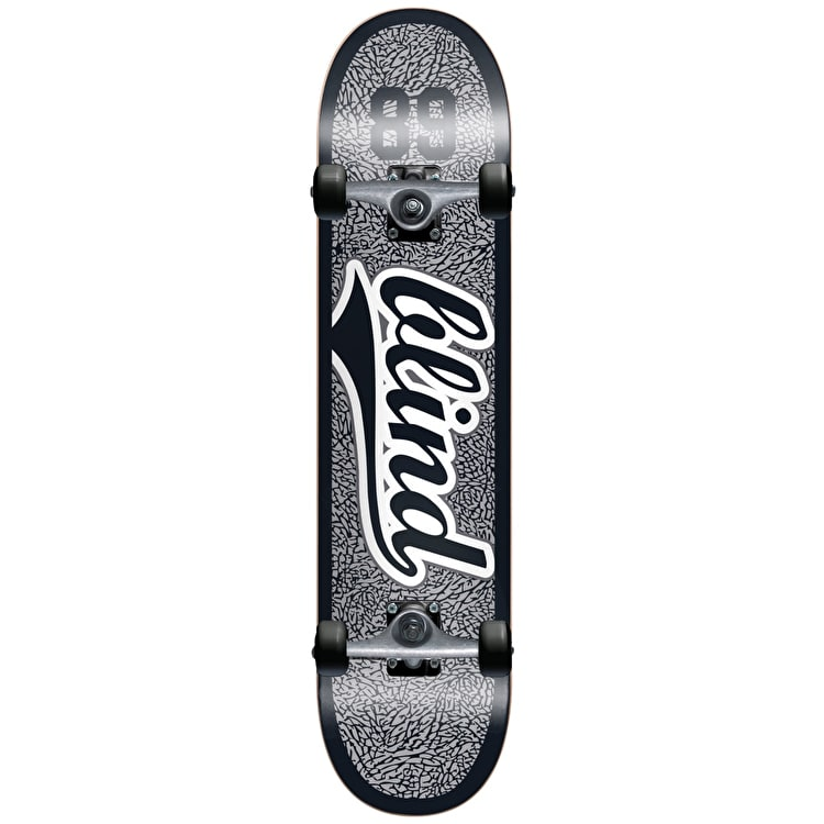 Blind Athletic Skin Complete Skateboard - Grey/Black 8""