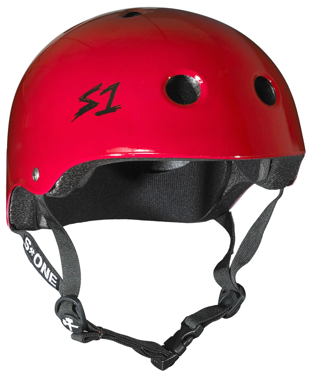 BStock S1 Lifer Multi Impact Helmet  Red Gloss  Extra Large 22.5  (Cosmetic Damage)