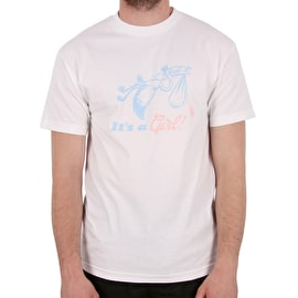 Girl Delivery T-Shirt - White