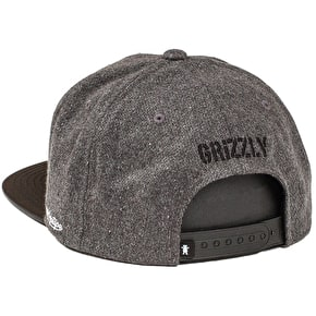 Grizzly Award Snapback Cap - Black