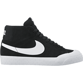 Nike SB Blazer Zoom Mid  XT Skate Shoes - Black/White/Gum