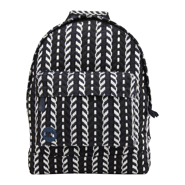 Mi-Pac Folk Knit Backpack - Navy