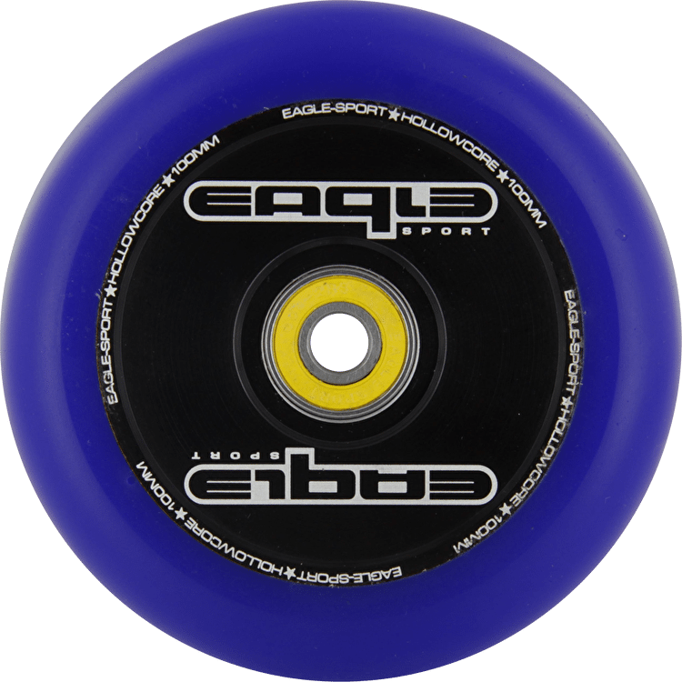 Eagle Hollow Tech Signature Core Blue PU Wheel - 100mm
