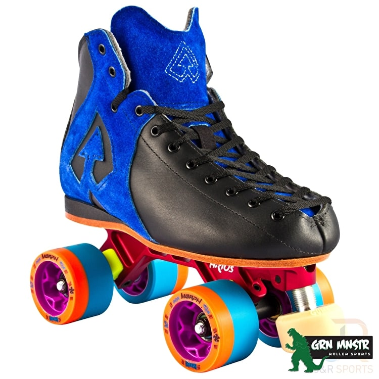 Antik AR1 Hurricane Roller Derby Skate Package Blue