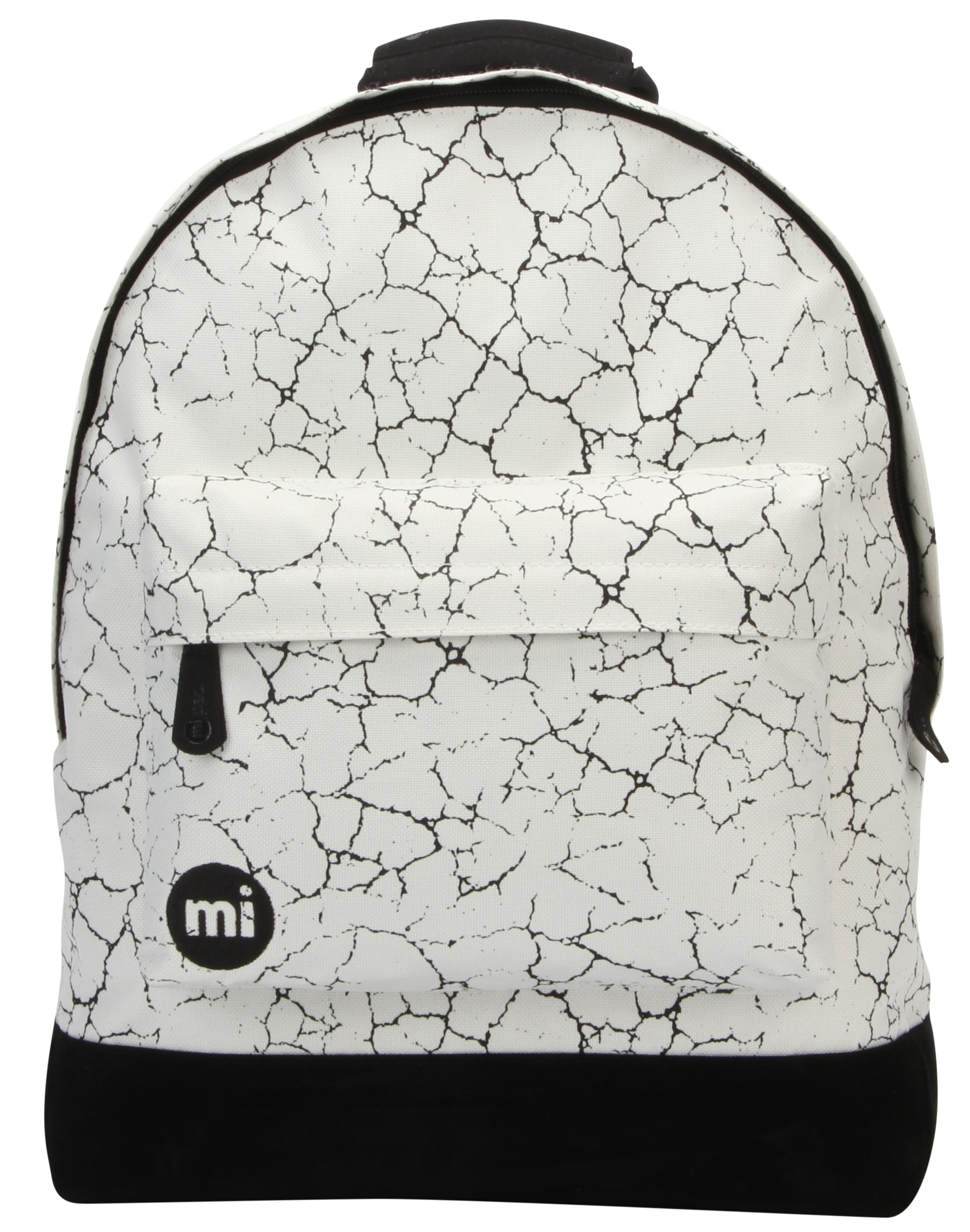 MiPac Cracked Backpack  NaturalBlack