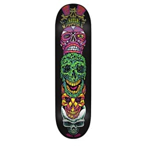 Santa Cruz Vivid Stack Branded Skateboard Deck - Multi 8.125