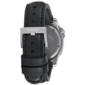 Nixon Ranger 45 Leather - Black/Red