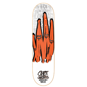 Heroin Skateboard Deck - Ghost Series - Childress - 8.5''