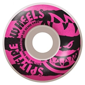Spitfire Shredded Pink Skateboard Wheels - 52mm