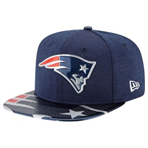 New Era 9FIFTY NFL17 Draft New England Patriots Cap - Navy