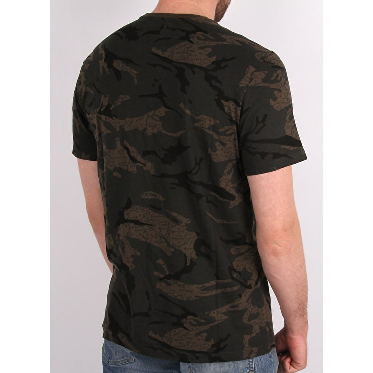 Element Plummer T shirt - Map Camo