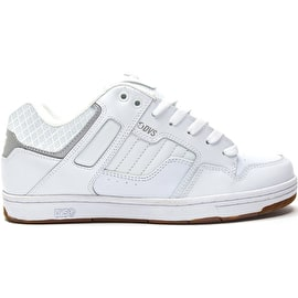 DVS Enduro 125 Skate Shoes - White/Reflective Gum/Nubuck